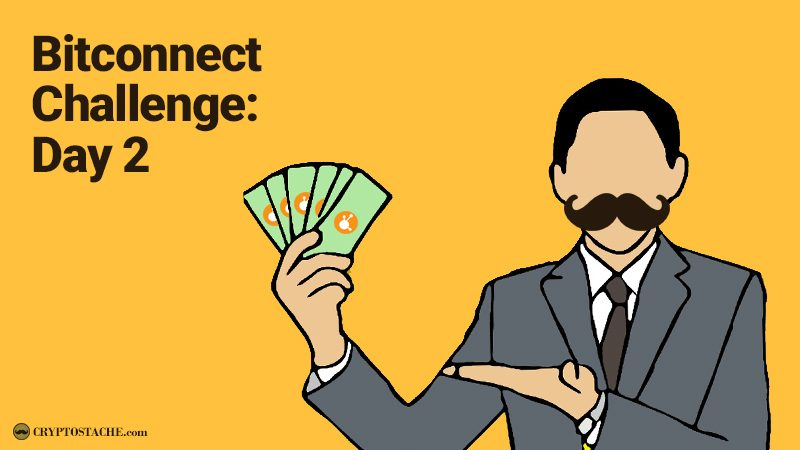 Bitconnect lending day 2 the cryptostache this is my second day charting my investment in bitconnect i have seen a lot of bloggers do this but i am going to be pretty diligent and bring updates stopboris Image collections
