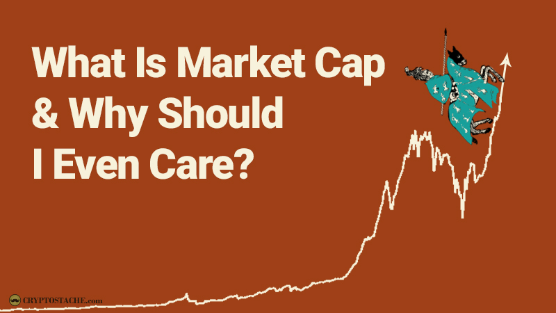 What is a cryptocurrency market cap?