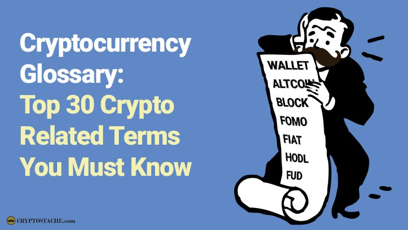 cryptocurrency glossary of terms you must know