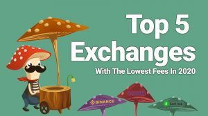 top best crypto cryptocurrency exchanges low fees lowest fees easy to use