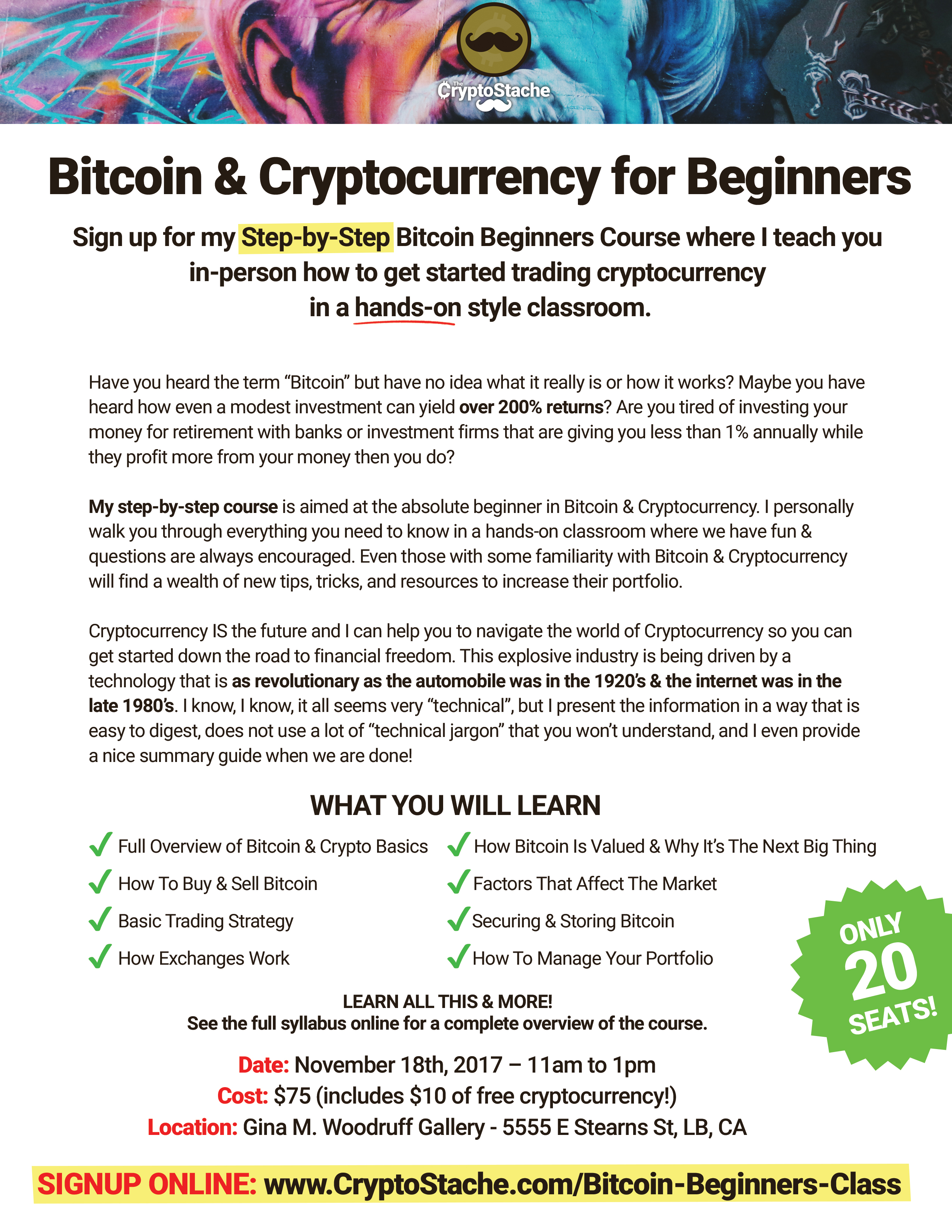 Crypto trading for beginners course