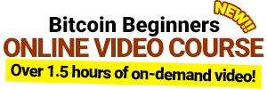 buy online bitcoin cryptocurrency beginners class video course