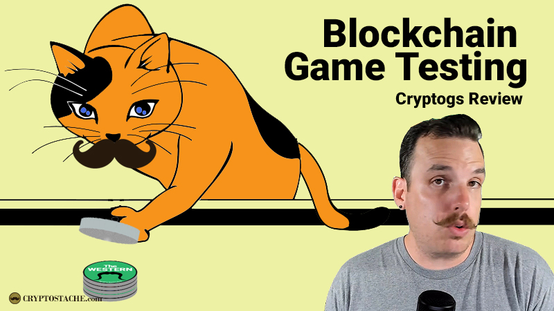 Blockchain Game Testing: Cryptogs Review - The Game Of Pogs