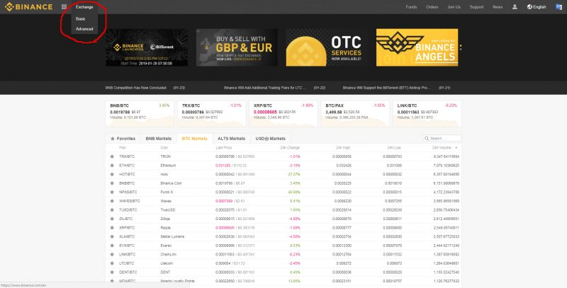how to read crypto charts for beginners binance