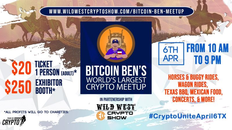 Bitcoin Ben largest crypto meetup in Texas 2019