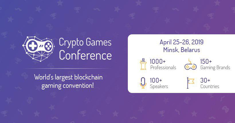 Crypto Blockchain games gaming conference 2019
