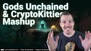 Gods Unchained cryptokitties limited edition pack opening statue