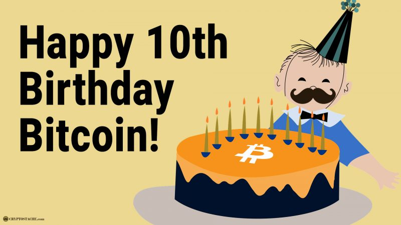 Bitcoin 10th Anniversary celebration proof of keys