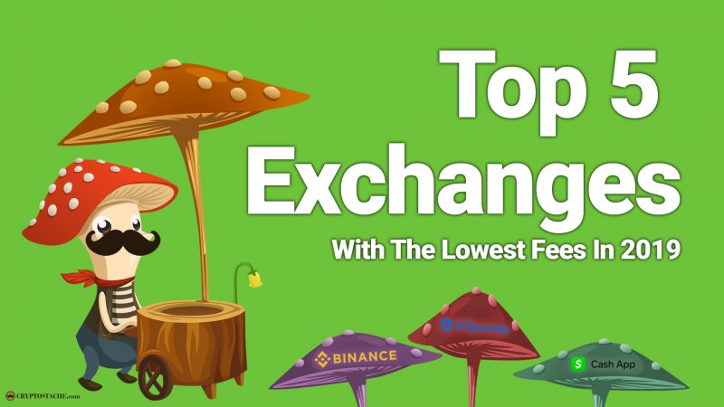 Top 5 Cryptocurrency Exchanges With The Lowest Fees In 2019