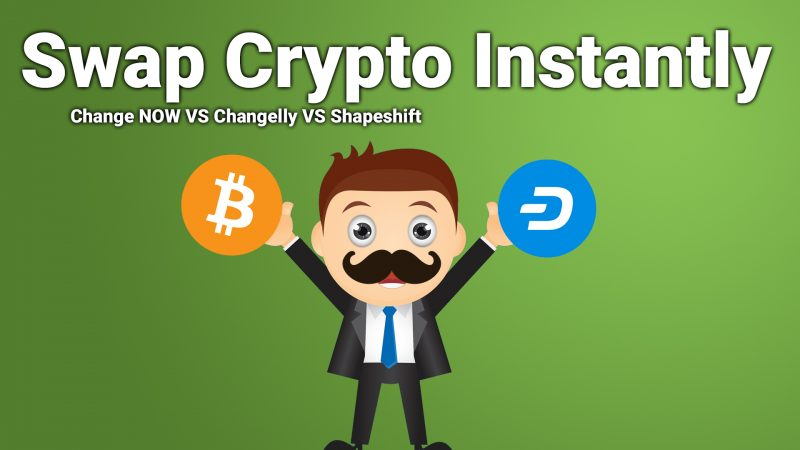 How to instantly swap cryptocurrency using Change NOW Changelly Shapeshift
