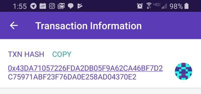 Enjin wallet verify  transaction