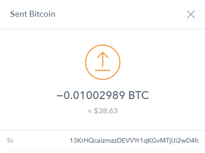 verify your coinbase transaction