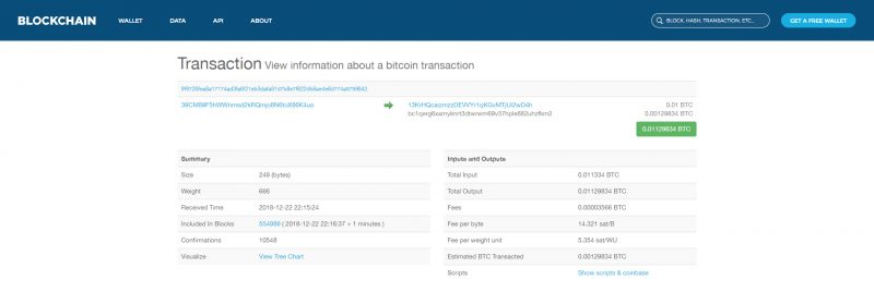 Blockchain.info & Blockchain.com block explorer