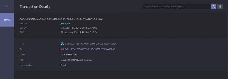 Enjinx.io universal blockchain explorer