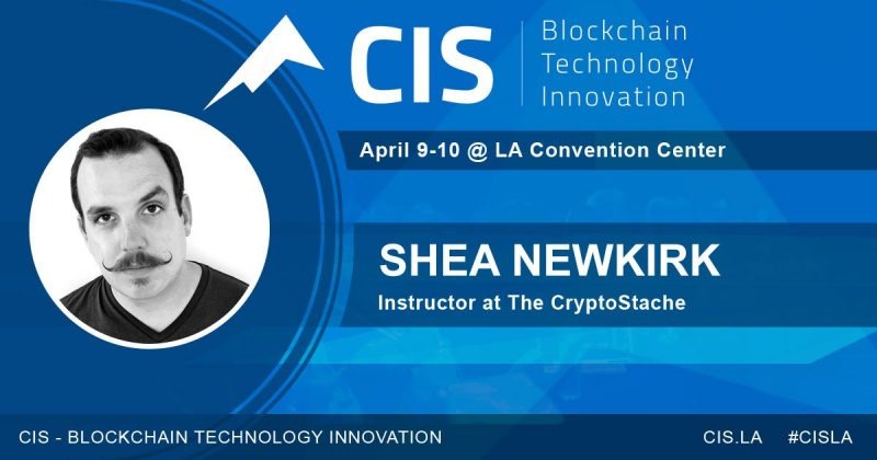 Blockchain Gaming Cryptocurrency Gaming speaker panel Shea Newkirk