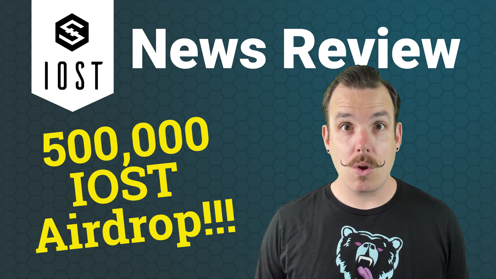 IOST news review 500k IOST airdrop