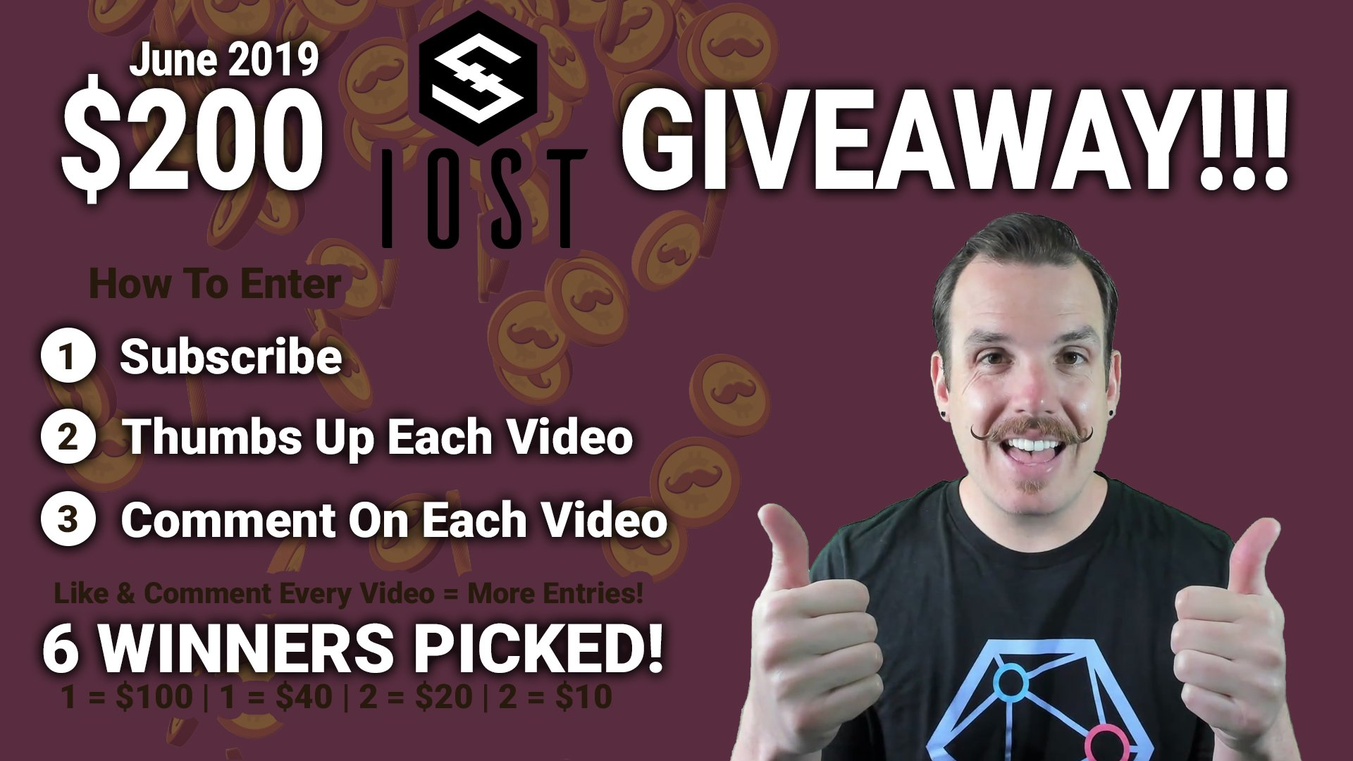 IOST giveaway