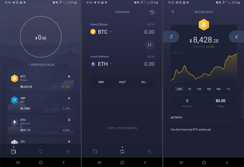 top best mobile crypto app wallet review exodus movement