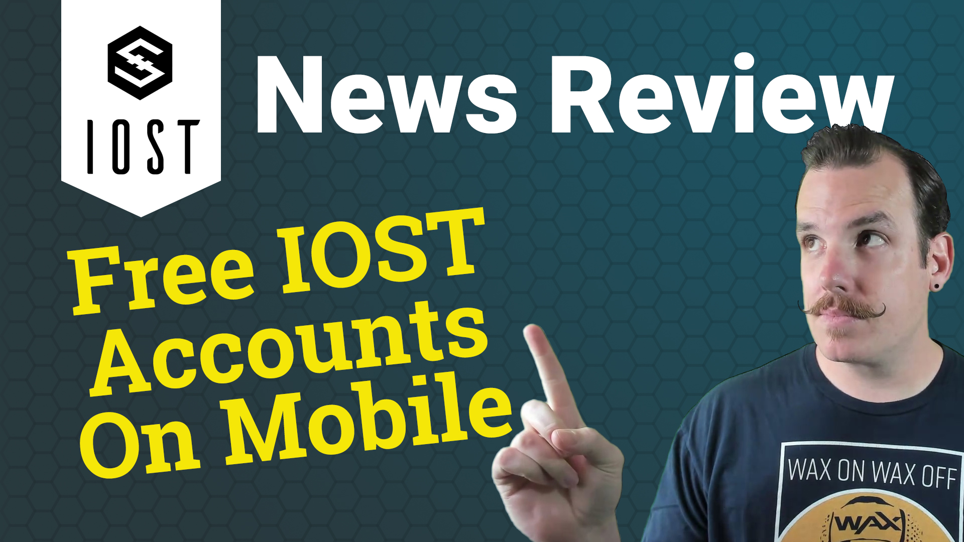 IOST News Review - Free IOST Accounts On Mobile