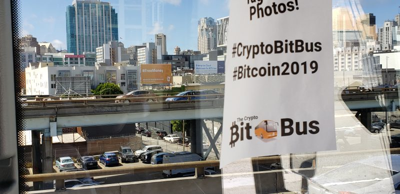 crypto bit bus bitcoin 2019 conference review