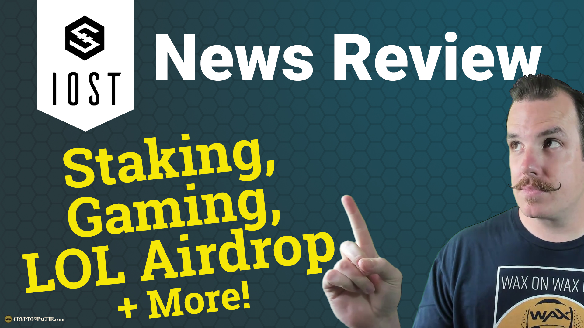 IOST News Review - Staking, Gaming, LOL Airdrop & More
