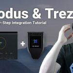 exodus wallet trezor integration connection hardware wallet tutorial