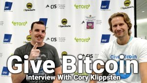 give bitcoin gift interview cory klippsten crypto invest summit cis la