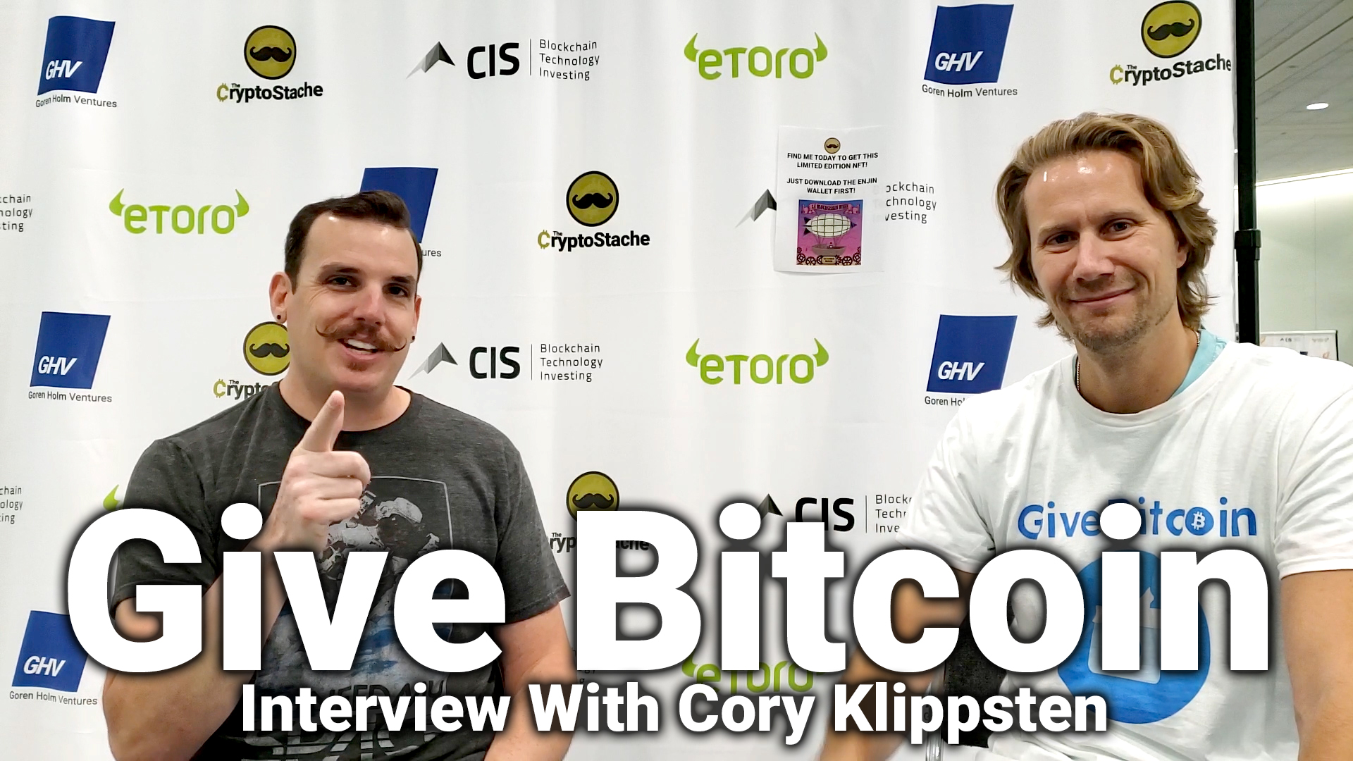 give bitcoin gift interview cory klippsten crypto invest summit cis la