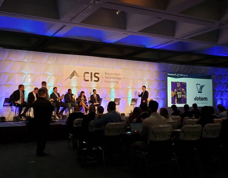 votem shark tank week la blockchain cis crypto invest summit bitcoin