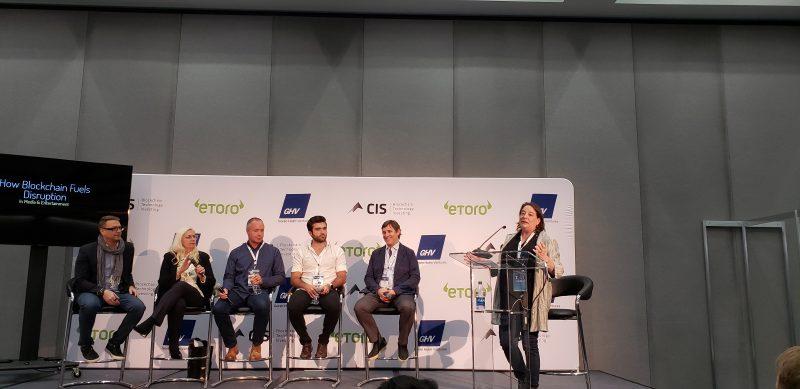 ann willmott blockchain disruption cis crypto invest summit la