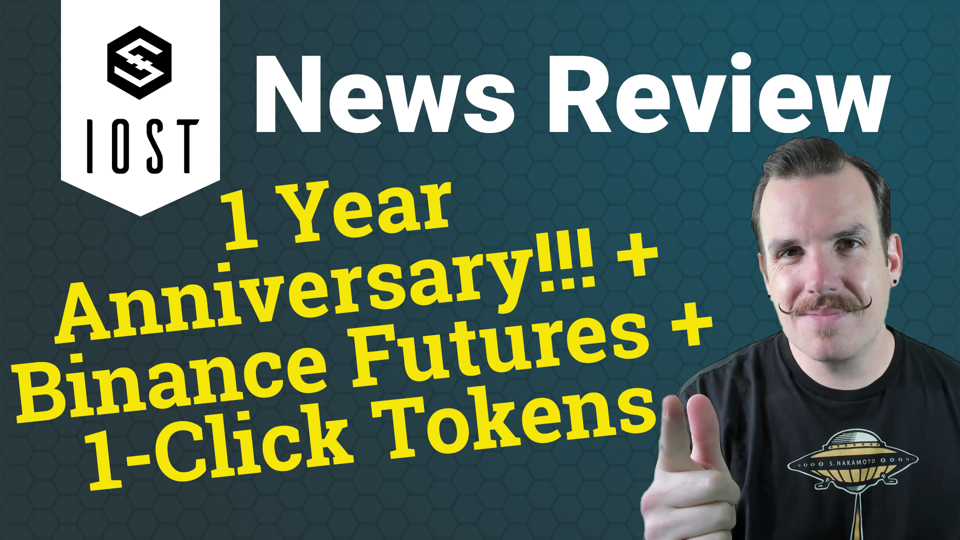 IOST News Review: February 2020 - 1 Year Anniversary, Binance Futures, 1-Click Tokens!