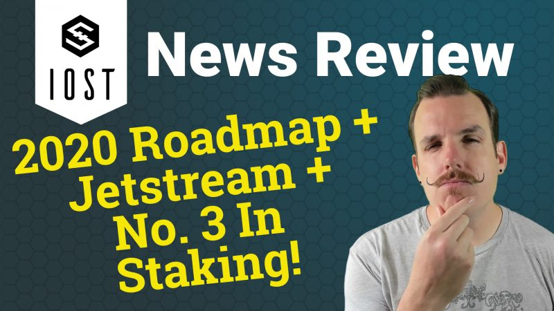 IOST IOStoken price news review staking profit jetstream roadmap 2020