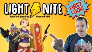 lightnite light nite lite night bitcoin game blockchain fps earn free review tutorial