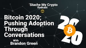stache my crypto podcast cryptocurrency bitcoin conference 2020