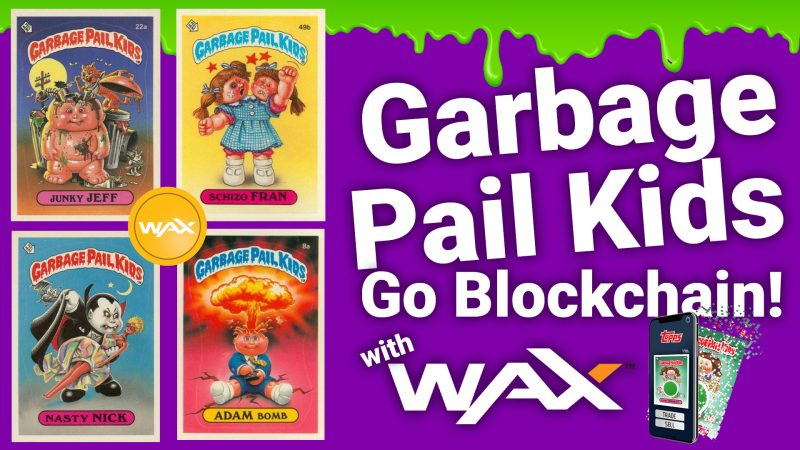 how to buy digital garbage pail kids cards wax