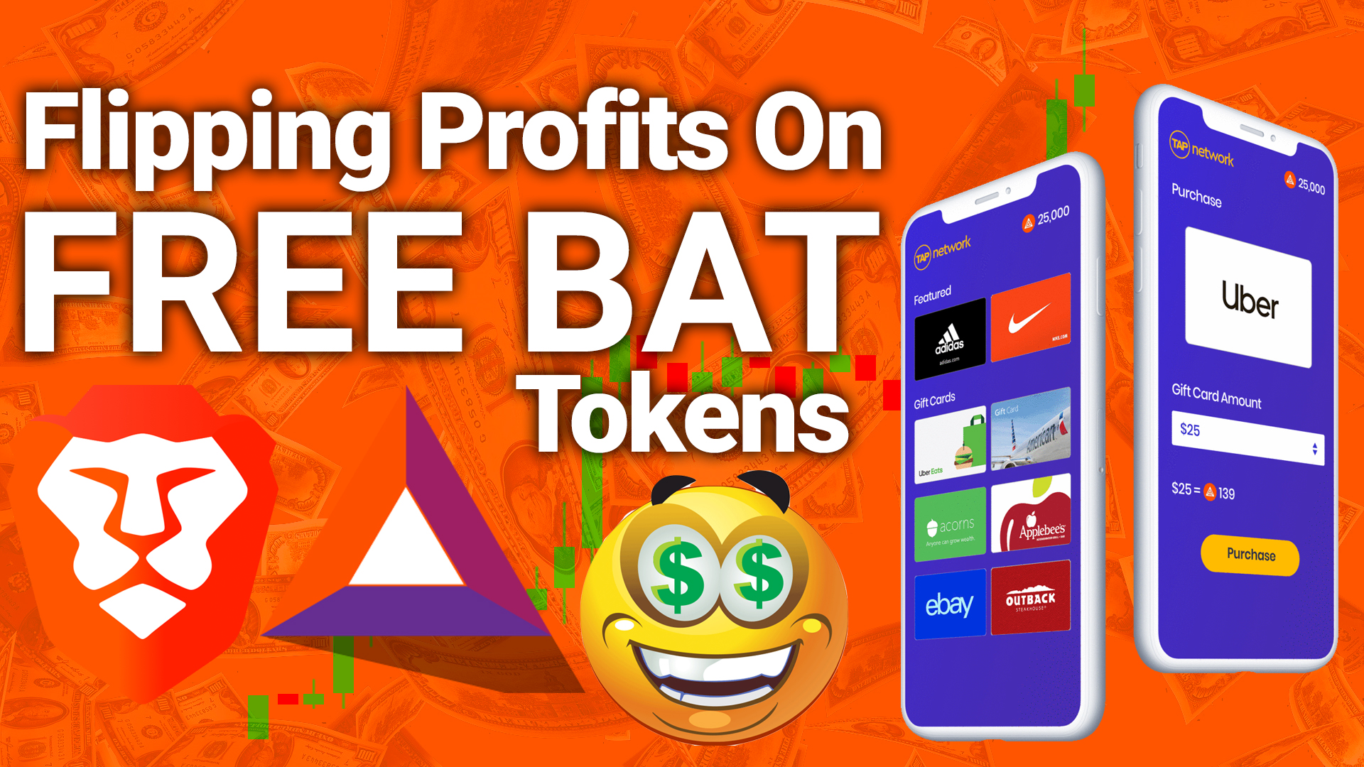 brave browser chrome best privacy bat basic attention token free ad network tap gift cards cryptocurrency