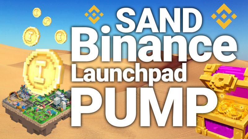 sand land sandbox game binance launchpad token sale coin pump price prediction how to