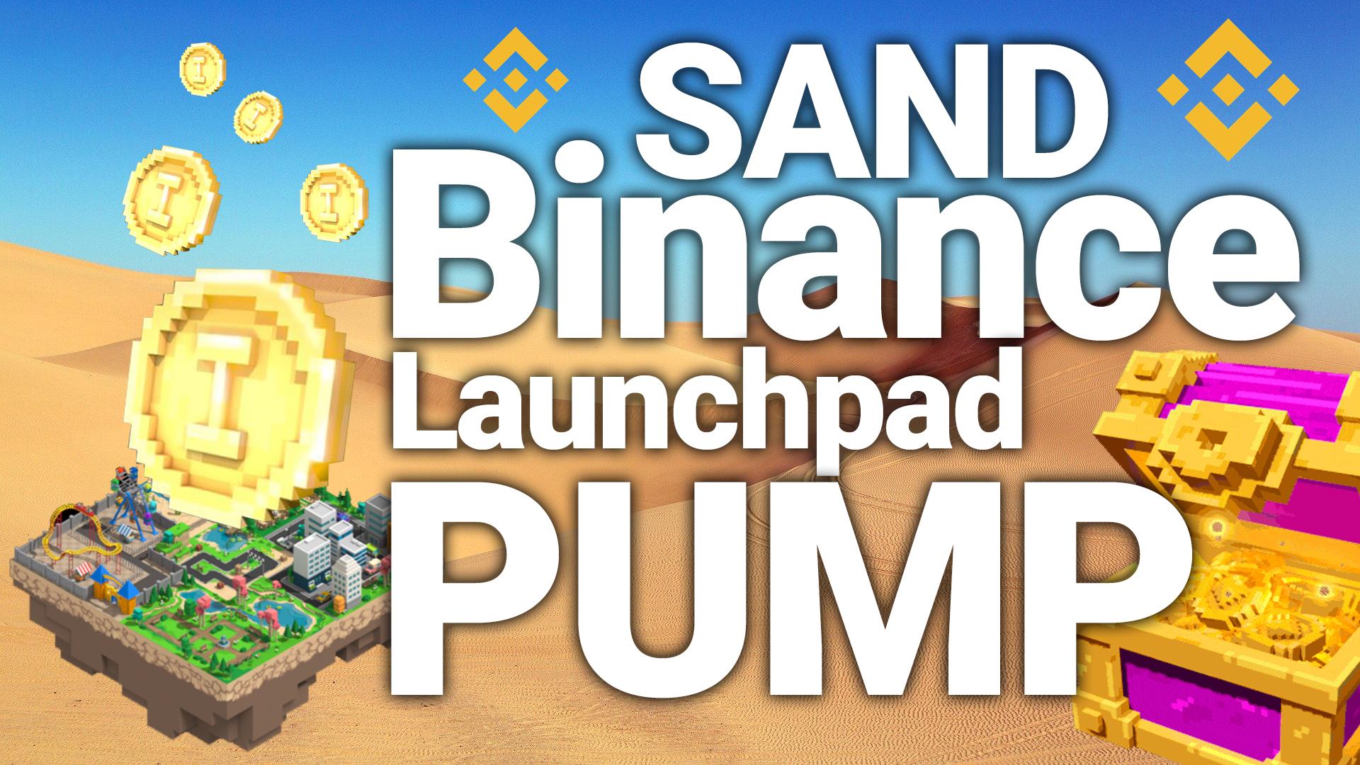 sand land sandbox game binance launchpad token sale coin pump price prediction how to