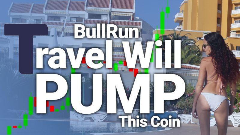 crypto hotel stay buy travala ava token passive income rewards bull run covid