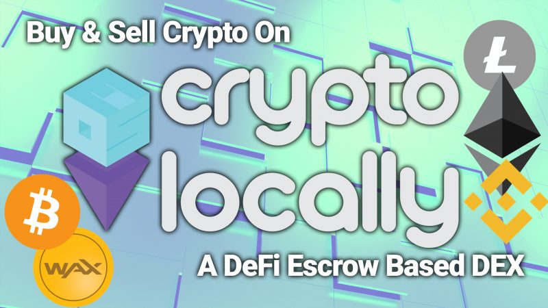 cryptolocally no kyc dex defi exchange fiat on ramp buy crypto with usd