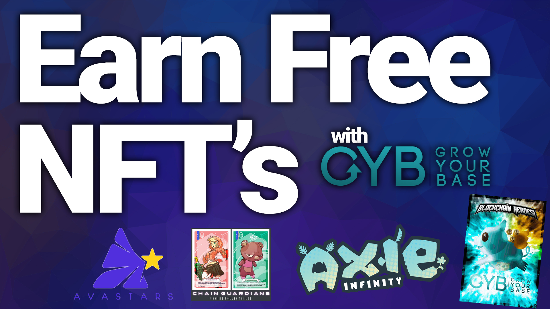 nft nifty free earn gyb grow your base blockchain gaming art token review 2020 best