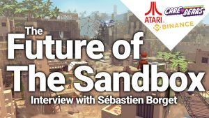 sebastien borget interview sandbox game sand land how to buy