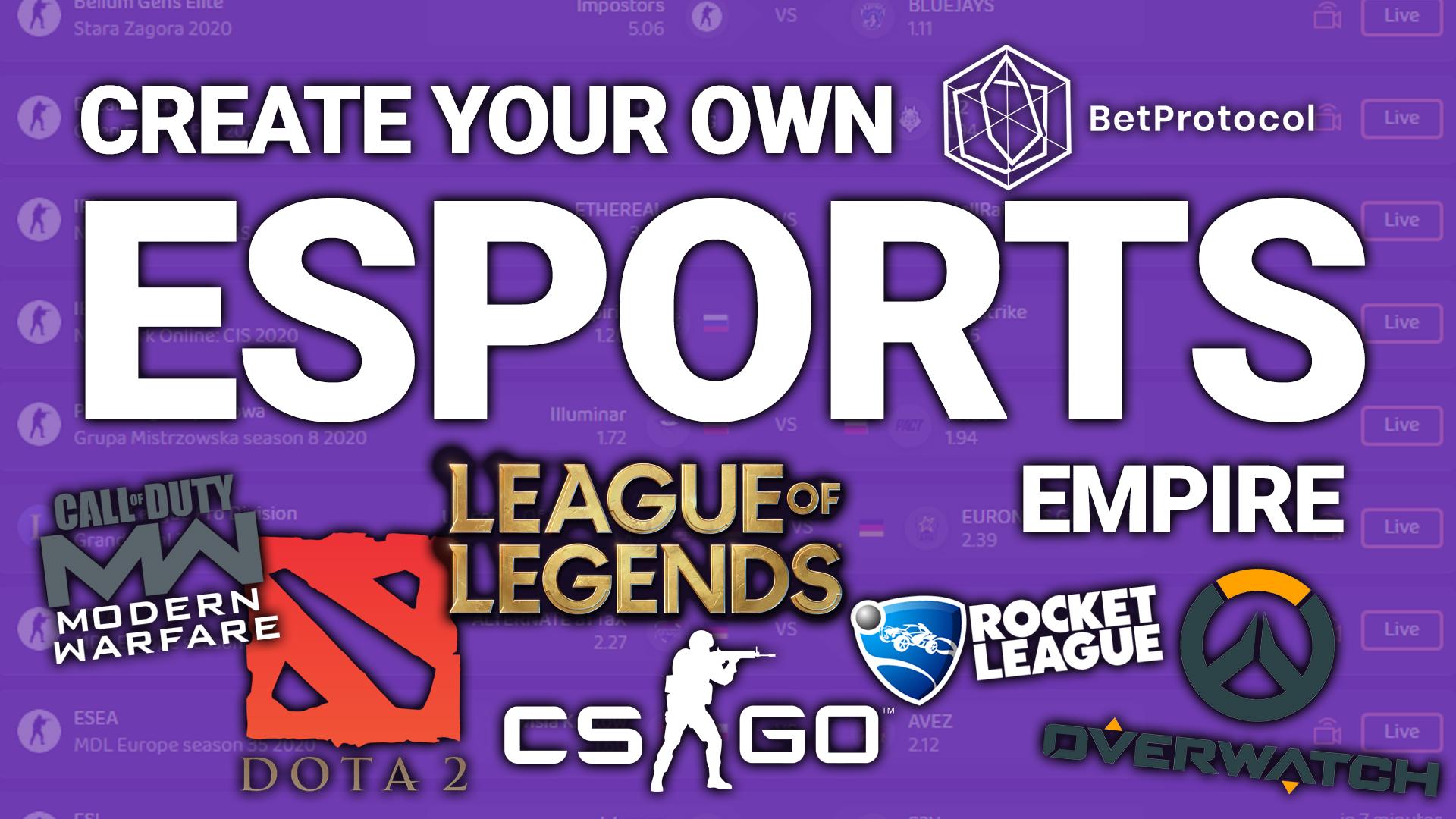 esports betting online CS:GO counter strike go league of legends dota 2 rocket league