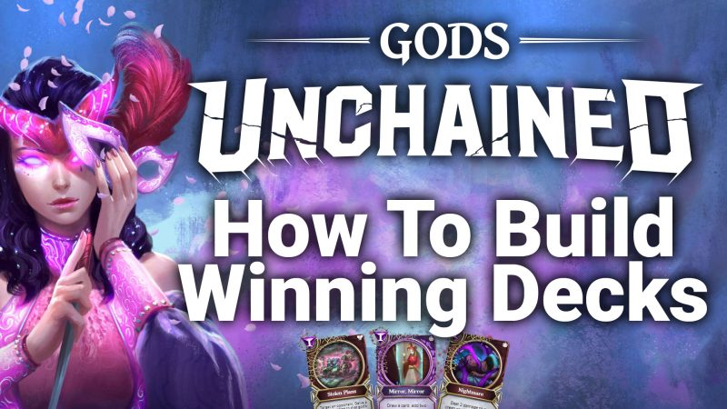 gods unchained how to play deck building giveaway ccg tcg magic the gathering arena hearthstone runetera
