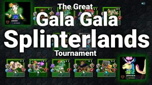 splinterlands tournament blockchain games crypto cryptocurrency