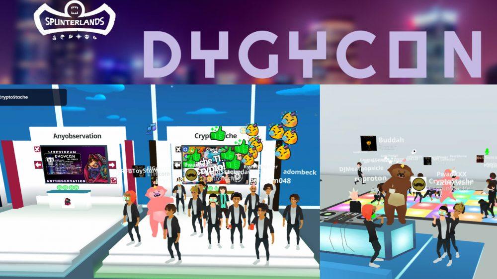 dygycon nft conference virtual blockchain gaming gamerjibe