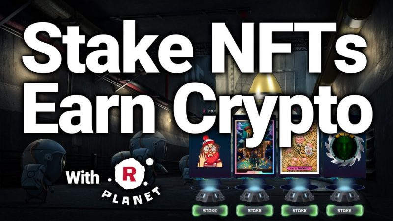 rplanet staking wax nft earn cryptocurrency crypto passive income