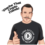 stache that crypto friends cryptostache nft nfts wax atomic hub sale buy stache stickers series 1