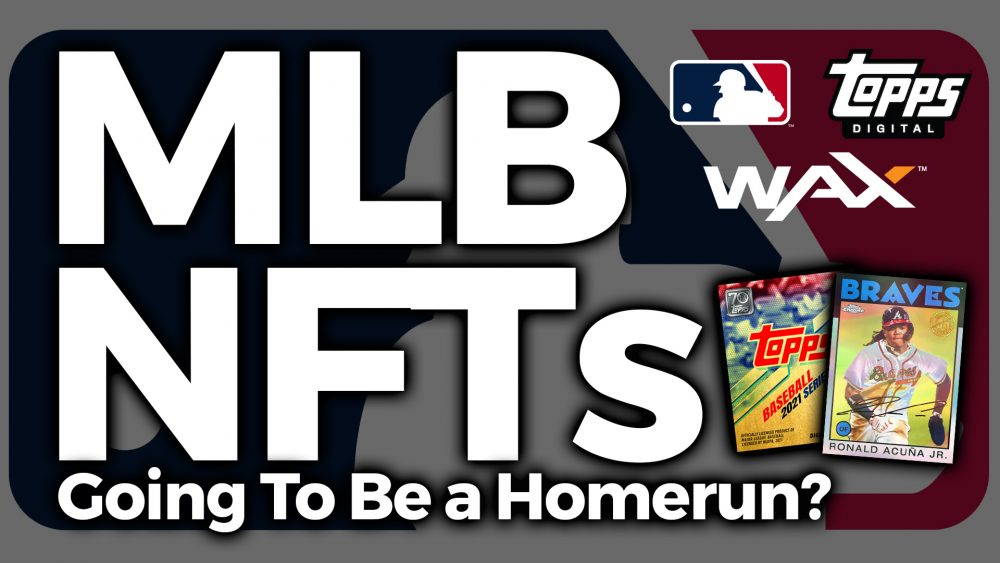 mlb major league baseball topps nft baseball cards wax blockchain buy