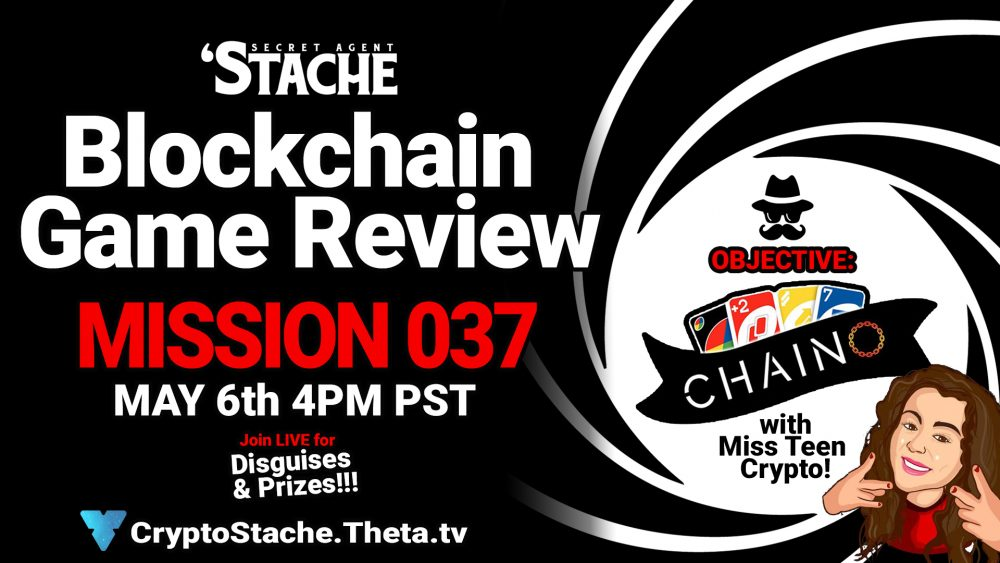 blockchain rgame reivew chaino game with miss teen crypto
